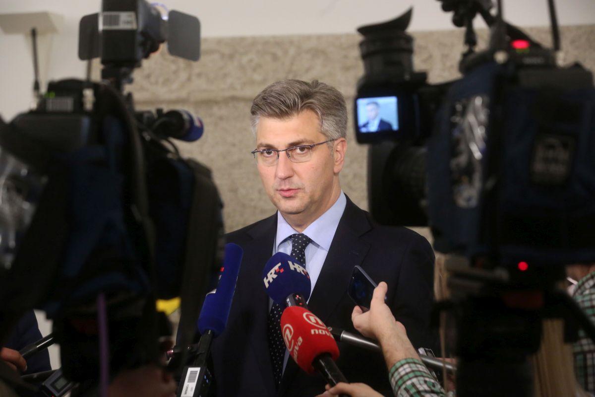 Plenković o Tajaniju: Najoštrije osuđujem njegovu izjavu koja ima natruhe revizionizma i teritorijalnih pretenzija
